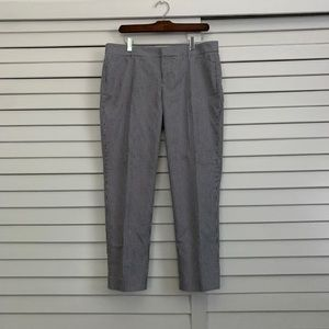 Gap slim cropped skinny stretch pants